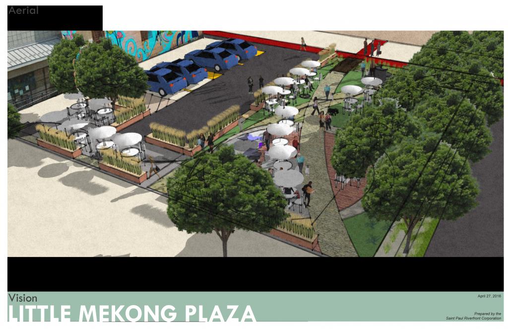 Little Mekong Plaza rendering