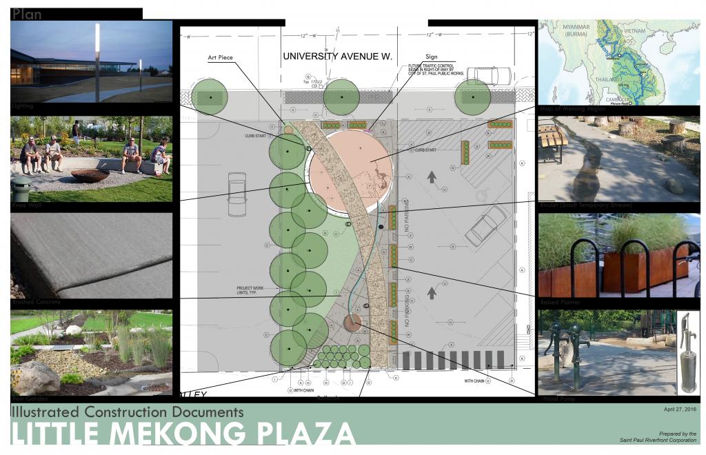 Little Mekong Plaza rendering overhead