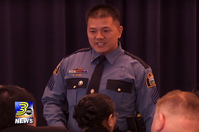 HAP Board Member Chou Jim Yang Promoted to Sergeant in St. Paul Police Department