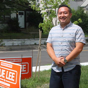Fue Lee Lawn Signs running for office