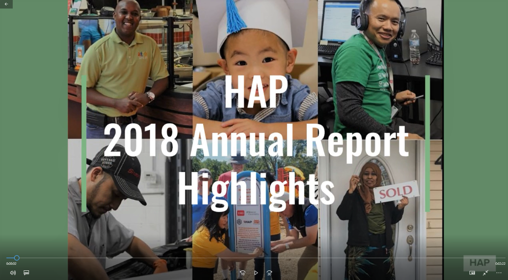 2016-2018 Annual Report Video
