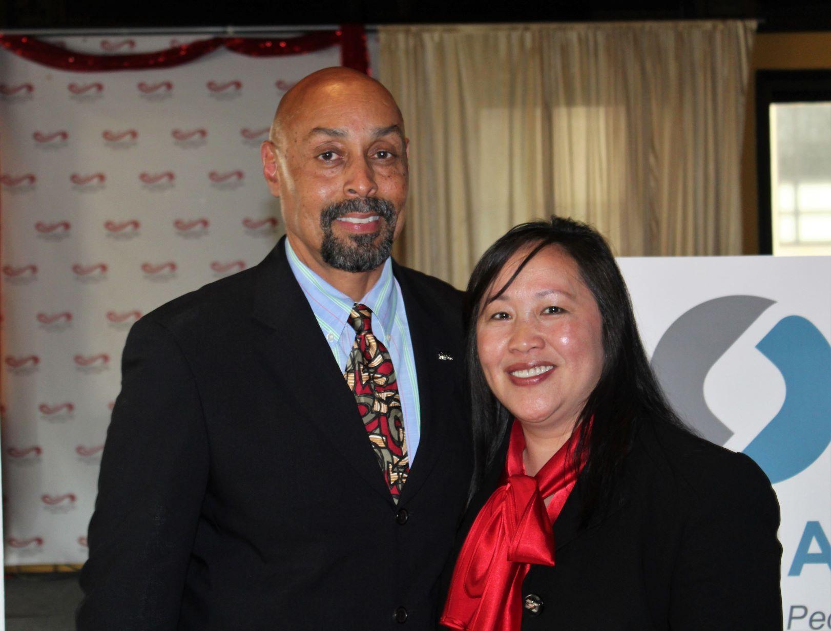 James Haynes of OICA with Bao Vang of HAP