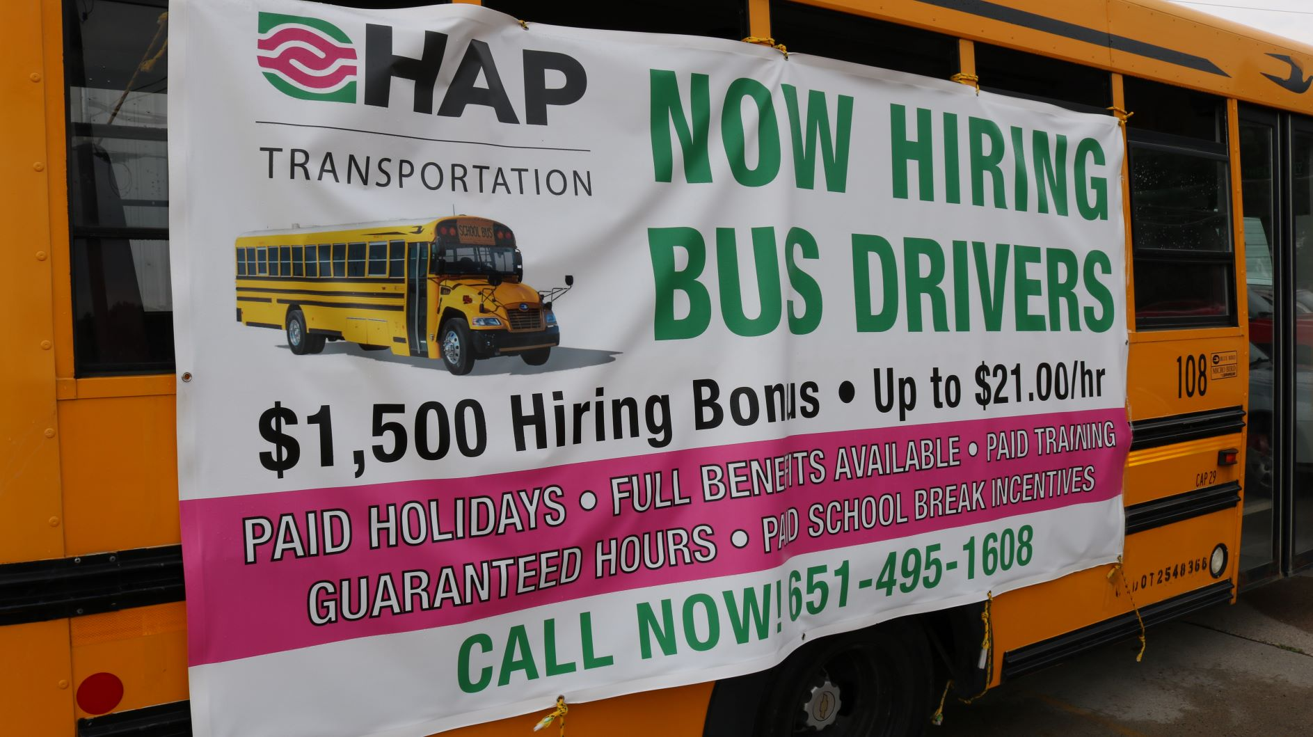 Become a HAP Bus Driver!