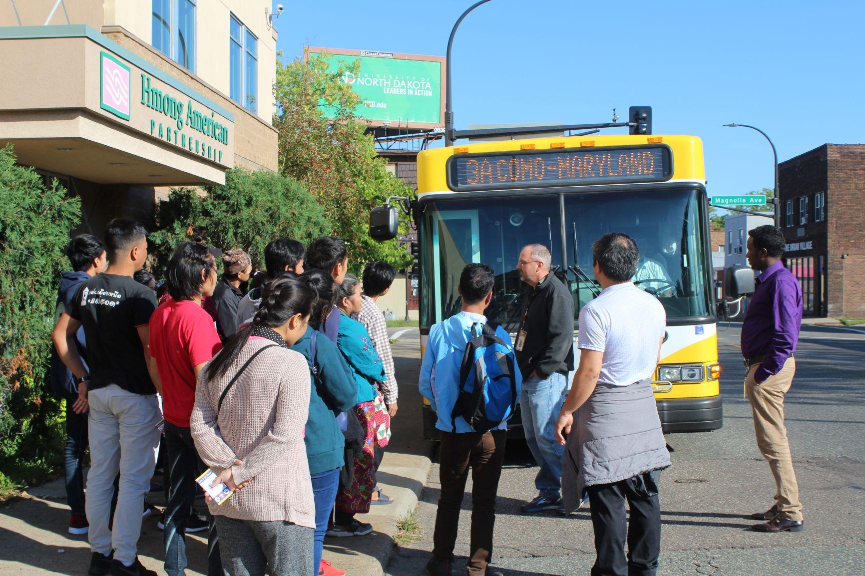HAP RSS Bus Tour