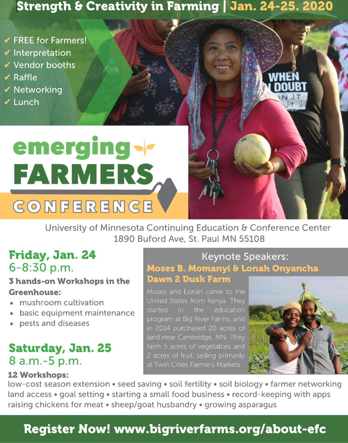 Emerging Farmer's Conference