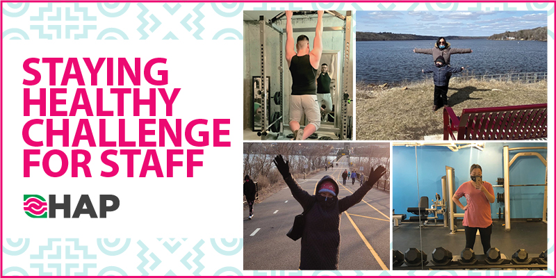 Stay Healthy Challenge for Staff